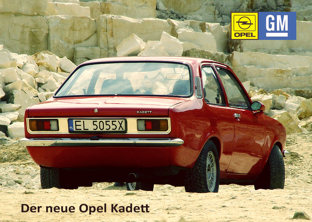 Opel Kadett C 1