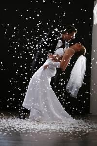 Ślubne zdjęcia studyjne