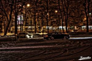 Zwiedzanie Parkingow - BMW E46 Coupe i Toyota Celica