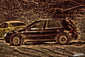 Zwiedzanie Parkingow - Volkswagen Golf