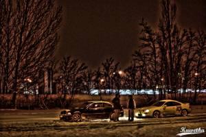Zwiedzanie Parkingow - BMW E46 i Toyota Celica